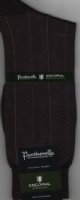 Pantherella Escorial Wool Blend Socks - Russell - Black